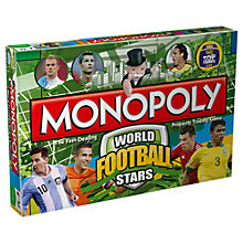Buy Winning Moves World Football Stars Monopoly Online at johnlewis.com