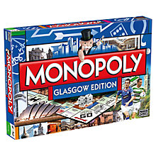 Buy Winning Moves Glasgow Edition Monopoly Online at johnlewis.com