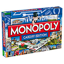 Buy Winning Moves Cardiff Edition Monopoly Online at johnlewis.com
