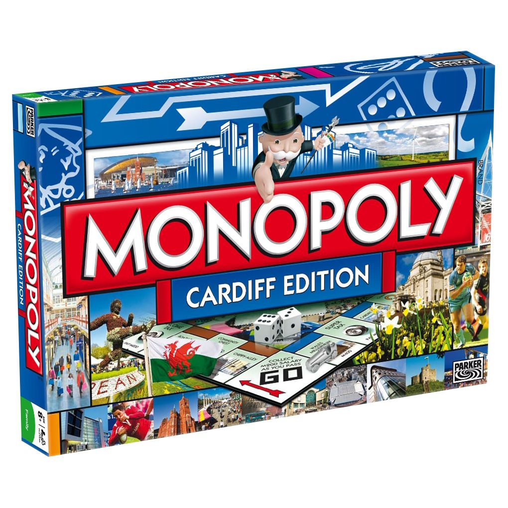 Monopoly Monopoly Cardiff Edition