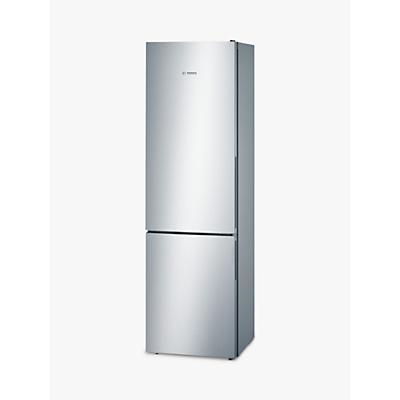 Bosch KGV39VL31G Fridge Freezer, A++ Energy Rating, 60cm Wide, Stainless Steel Look