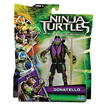 Buy Teenage Mutant Ninja Turtles Movie Action Figure, Donatello Online at johnlewis.com
