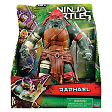 Buy Teenage Mutant Ninja Turtles Movie Super Deluxe Action Figure, Raphael Online at johnlewis.com