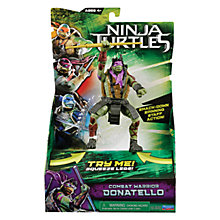 Buy Teenage Mutant Ninja Turtles Movie Combat Warrior Action Figure, Donatello Online at johnlewis.com