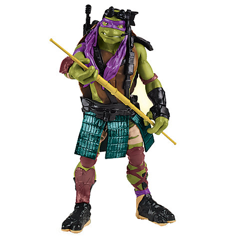 Buy Teenage Mutant Ninja Turtles Movie Super Deluxe Action Figure, Donatello Online at johnlewis.com