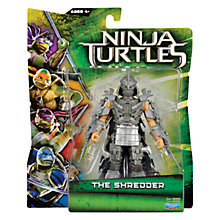 Buy Teenage Mutant Ninja Turtles Movie Action Figure, The Shredder Online at johnlewis.com