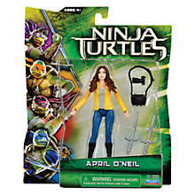 Buy Teenage Mutant Ninja Turtles April O'Neil Action Figure Online at johnlewis.com