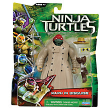 Buy Teenage Mutant Ninja Turtles Movie Action Figure, Raphael in a Trench Coat Online at johnlewis.com