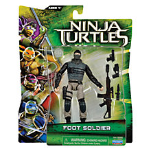 Buy Teenage Mutant Ninja Turtles Movie Action Figure, Foot Soldier Online at johnlewis.com