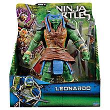 Buy Teenage Mutant Ninja Turtles Movie Super Deluxe Action Figure, Leonardo Online at johnlewis.com