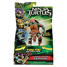 Buy Teenage Mutant Ninja Turtles Movie Combat Warrior Action Figure, Raphael Online at johnlewis.com