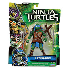 Buy Teenage Mutant Ninja Turtles Movie Action Figure, Leonardo Online at johnlewis.com