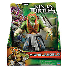 Buy Teenage Mutant Ninja Turtles Movie Super Deluxe Action Figure, Michelangelo Online at johnlewis.com