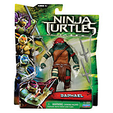 Buy Teenage Mutant Ninja Turtles Movie Action Figure, Raphael Online at johnlewis.com