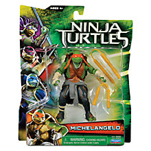 Buy Teenage Mutant Ninja Turtles Movie Action Figure, Michelangelo Online at johnlewis.com