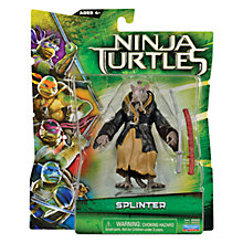 Buy Teenage Mutant Ninja Turtles Movie Action Figure, Splinter Online at johnlewis.com