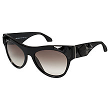 Buy Prada PR22QS Limited Edition Voice Sunglasses, Black Online at johnlewis.com
