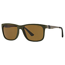 Buy Polo Ralph Lauren PH4088 Square Sunglasses Online at johnlewis.com