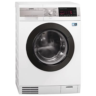 AEG L99695HWD ÖKOKombi Plus Heat Pump Washer Dryer, 9kg Wash/6kg Dry Load, A Energy Rating, 1600rpm Spin, White