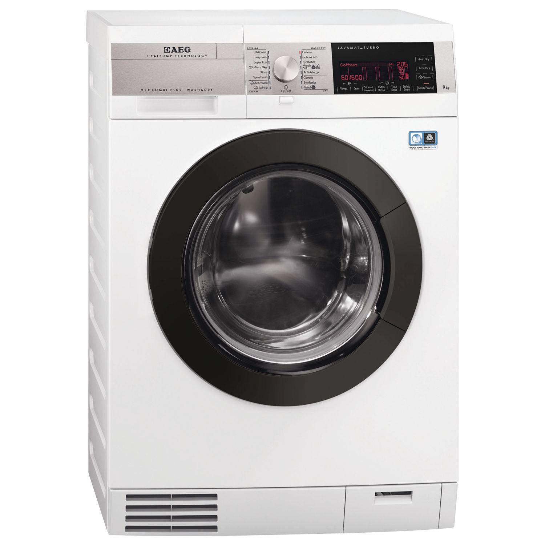 AEG L99695HWD 9kg Wash White Freestanding Washer Dryer