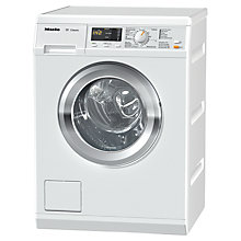 Buy Miele WDA110 Freestanding Washing Machine, 7kg Load, A++ Energy Rating, 1400rpm Spin, White Online at johnlewis.com