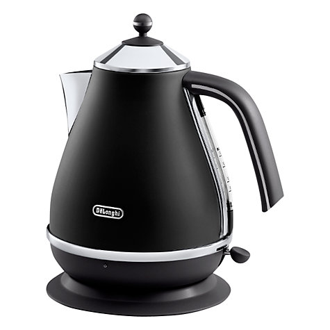 Buy De'Longhi Icona Vintage Kettle, Black Online at johnlewis.com