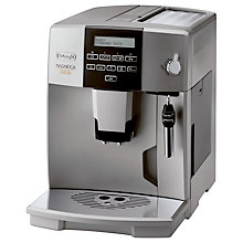 Buy De'Longhi ESAM04.320.S Magnifica Rapid Bean-to-Cup Coffee Machine, Silver Online at johnlewis.com