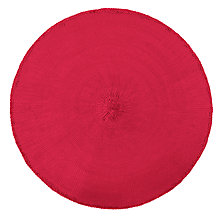 Buy John Lewis Paper Placemats, Red, Set of 4 Online at johnlewis.com