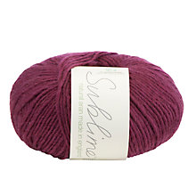 Buy Sirdar Sublime Natural Aran Yarn, 50g Online at johnlewis.com
