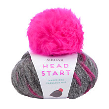 Buy Sirdar Head Start Beanie Hat Knitting Kit, 50g Online at johnlewis.com