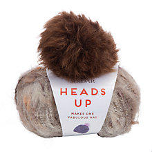 Buy Sirdar Heads Up Beanie Hat Knitting Kit, 50g Online at johnlewis.com