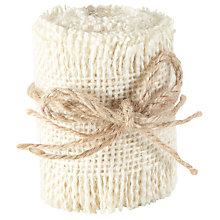 Buy Groves Small Hessian Woven Fabric Roll Online at johnlewis.com