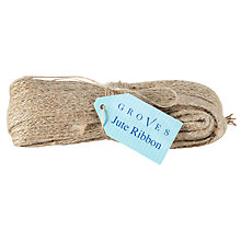 Buy Groves Jute Ribbon Online at johnlewis.com