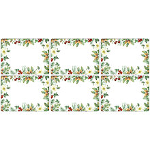 Buy John Lewis Winter's Eve Placemats, Set of 6 Online at johnlewis.com