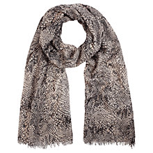 Buy Coast Carmellina Snake Scarf, Mono Online at johnlewis.com