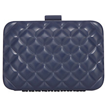 Buy Coast Pastel Clutch Bag, Navy Online at johnlewis.com
