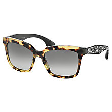 Buy Miu Miu MU 09PS Square Frame Sunglasses Online at johnlewis.com