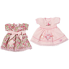 Buy Zapf Baby Annabell Floral Pink Dress Collection, Assorted Online at johnlewis.com