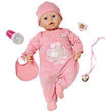 Buy Zapf Baby Annabell Doll Online at johnlewis.com