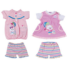 Buy Zapf Baby Born Outfit Collection, Assorted Online at johnlewis.com