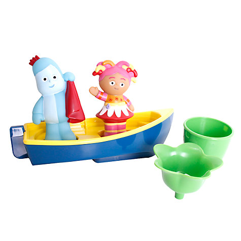 Buy In The Night Garden Floaty Boat Set Online at johnlewis.com