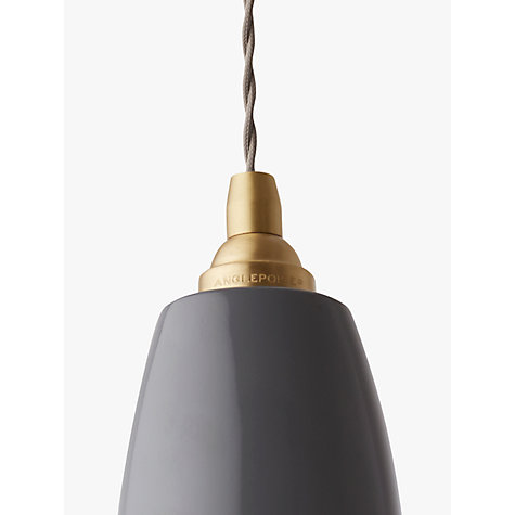 Buy Anglepoise Original 1227 Brass Pendant Online at johnlewis.com