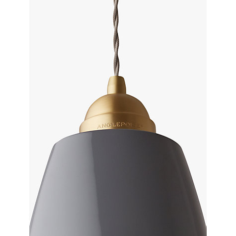 Buy Anglepoise Original 1227 Brass Maxi Pendant Online at johnlewis.com
