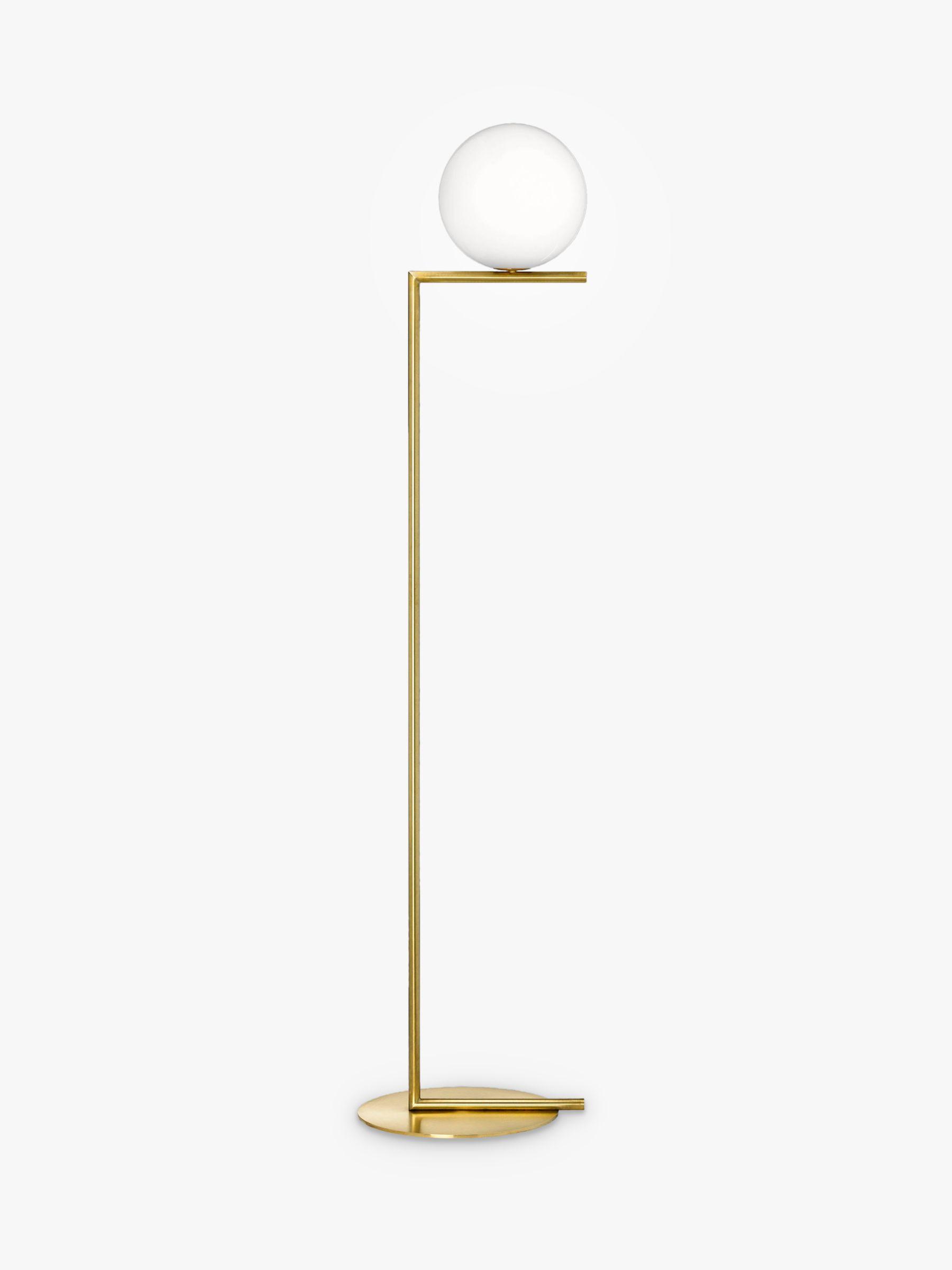 Flos Flos IC Lights 200 Floor Lamp, Brushed Brass
