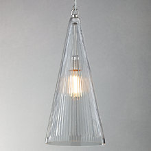 Buy John Lewis Croft Collection Ashby Glass Pendant Online at johnlewis.com