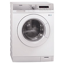Buy AEG L76285FL Washing Machine, 8kg Load, A+++ Energy Rating, 1200rpm Spin, White Online at johnlewis.com