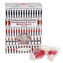 Buy Milly Green Handmade Strawberries & Cream Boiled Sweets, 150g Online at johnlewis.com
