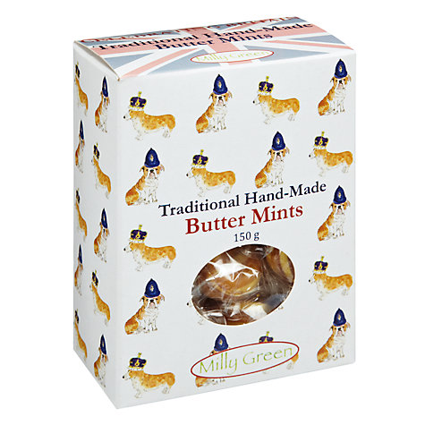 Buy Milly Green Handmade Butter Mints, 150g Online at johnlewis.com