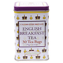 Buy Milly Green English Breakfast Tea, 30 Bags, 75g Online at johnlewis.com