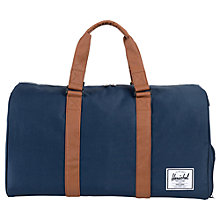 Buy Herschel Novel Holdall, Navy/Tan Online at johnlewis.com